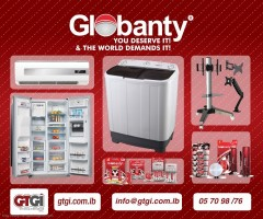 First Day Winning: Refrigerator Globanty Brand from GTGI